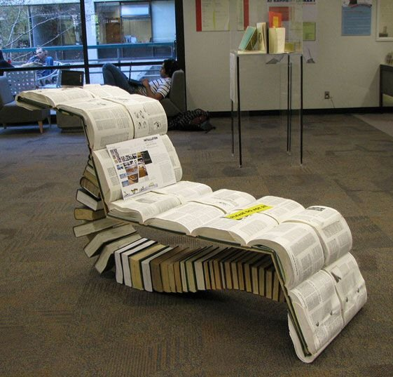 A chair for reading