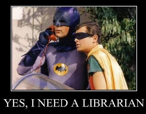 Looking for a librarian