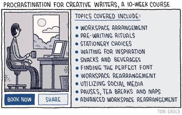 Course for creative writers