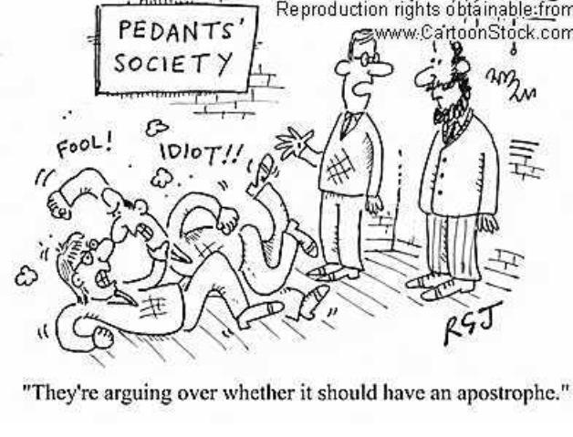Pedants Society