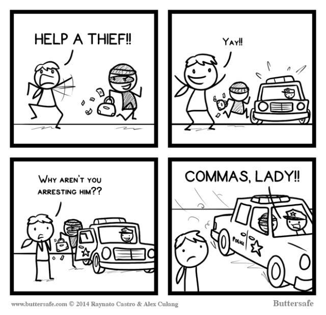 Commas matter