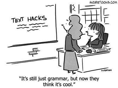 Still just grammar