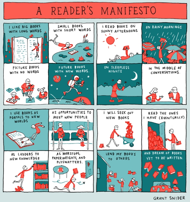A Readers Manifesto