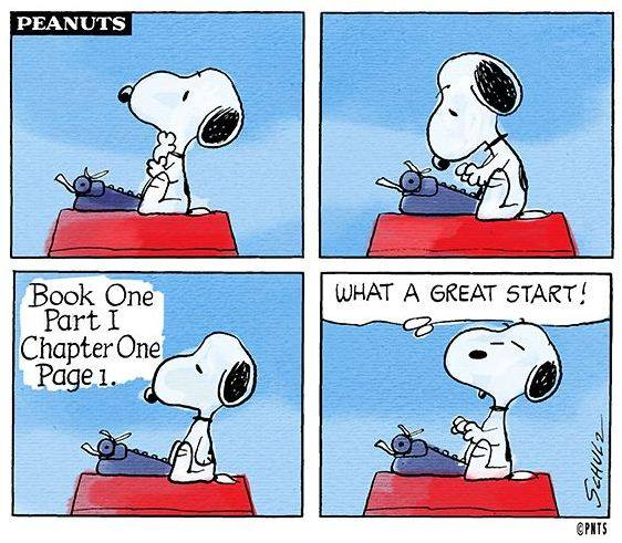 Great start snoopy