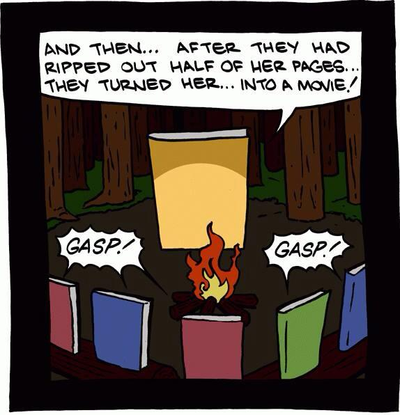 The adventures of a book
