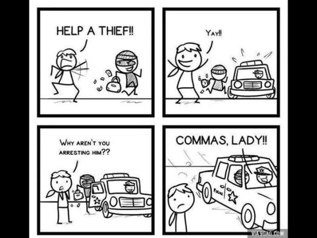 commas are important