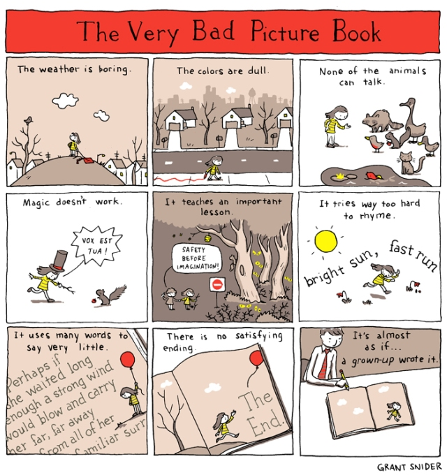 The very bad picture book