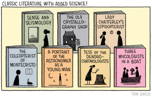 Classic literature with science