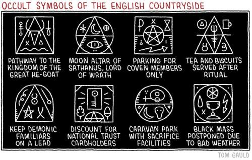 Symbols of the English countryside